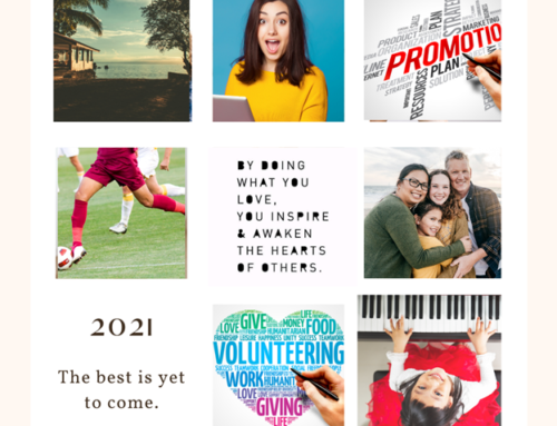 Blast Off Into 2021 with a Family Vision Board